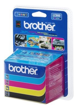 Patrone Brother LC-900VALBPDR Multipack