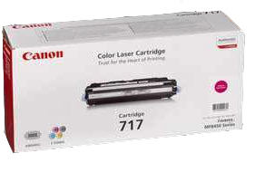 Laser Toner Canon Toner 717 Magenta