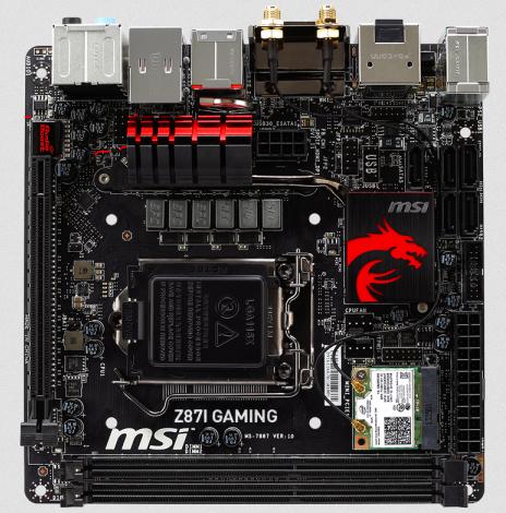 MSI MB Z87I GAMING AC