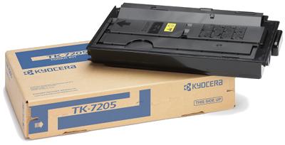 KYOCERA TK-7205 Toner schwarz hohe Kapazität 35.000 seiten 1er-Pack