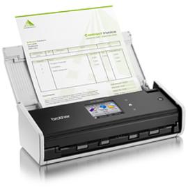 BROTHER ADS-1600W Duplex-Dokumentenscanner WLAN Touchscreen-Farbdisplay