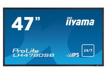IIYAMA Prolite B1780SD-B1 43cm 17Zoll 5.000.000:1 ACR 5ms DVI 250cd/m  Lautsprecher Hoehenv. Pivot schwarz