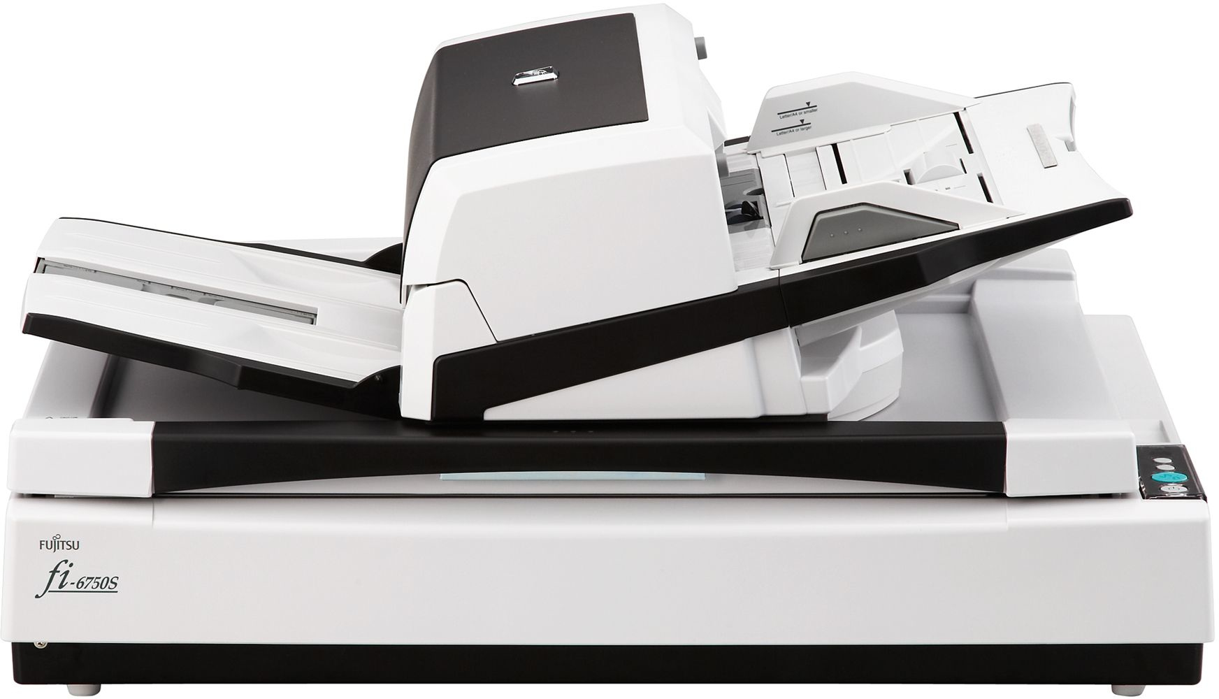 FUJITSU fi-6750s Scanner A3 color USB2.0 Flatbed ADF simplex 55ppm TWAIN ISIS PaperStream Software