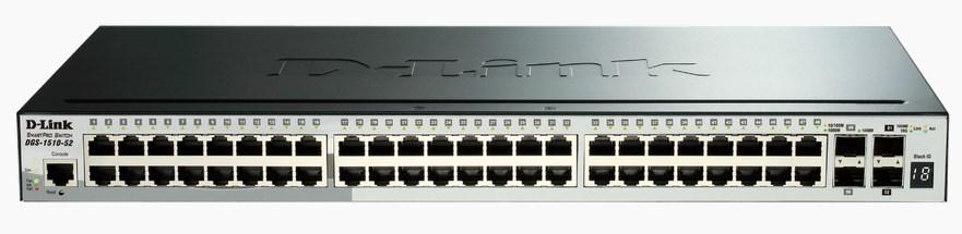 D-LINK 52-Port Smart Managed Gigabit Stack Switch