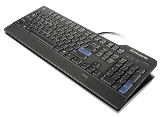 LENOVO Preferred Pro Fingerprint USB Keyboard German