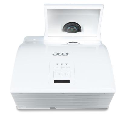 ACER U5213 DLP Projektor 3000 ANSI Lumen WUXGA 1920x1200 3D ready 10000:1 1xHDMI 2xVGA 1xUSB B mini