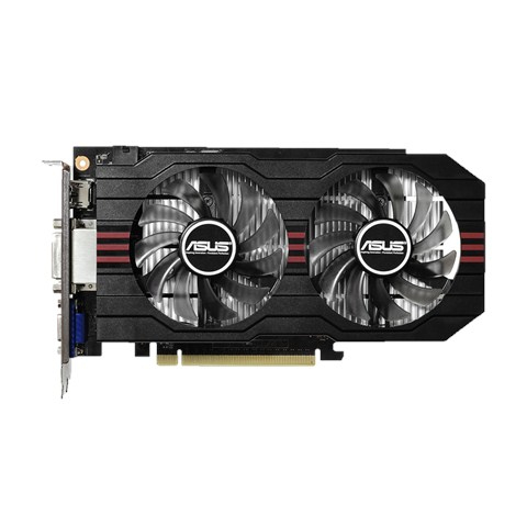ASUS GeForce GTX 750 TI OC Version 2048MB GDDR5 GTX750TI-OC-2GD5 2x DVI HDMI VGA aktiv