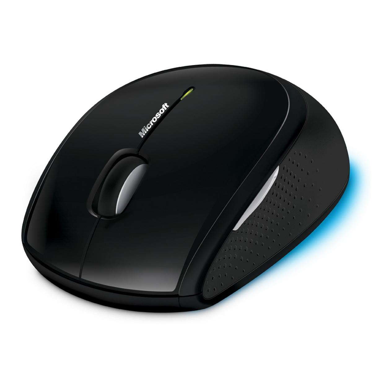 PC, Microsoft Wireless Mouse 5000 BlueTrack (USB) Black