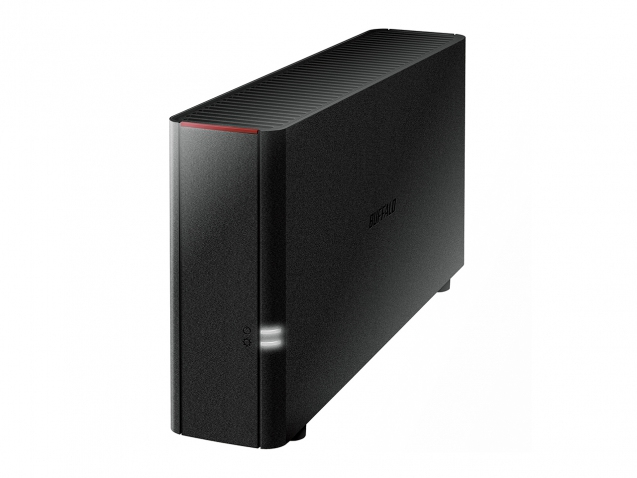 BUFFALO LinkStation 210 3TB NAS 1x 3TB HDD 1x Gigabit