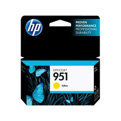 Inktpatroon HP 951 Yellow Officejet Ink Cartridge