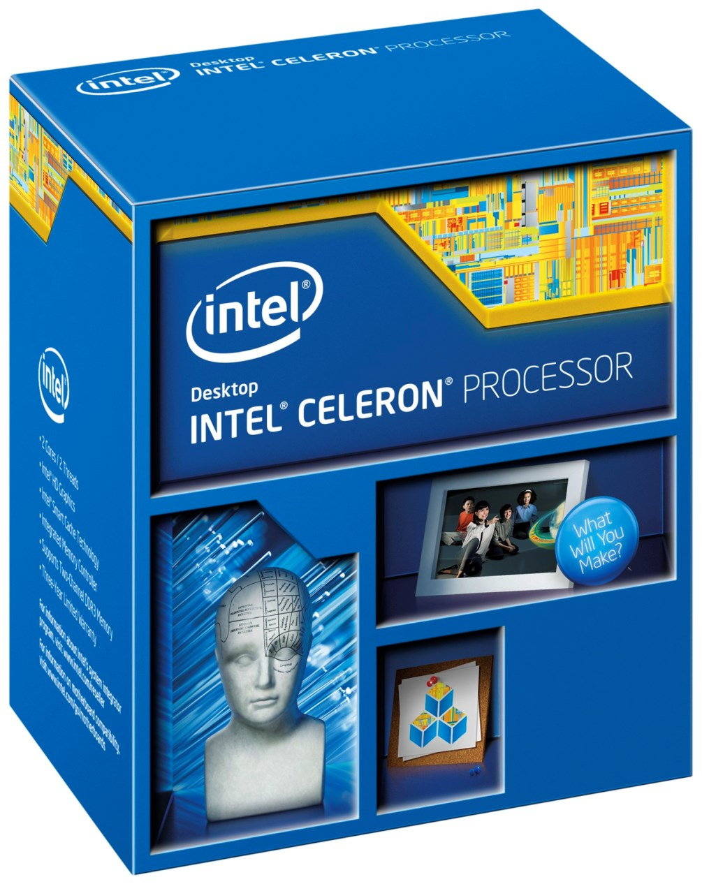 INTEL Celeron G1840 2,8GHz LGA1150 2MB Cache Boxed CPU