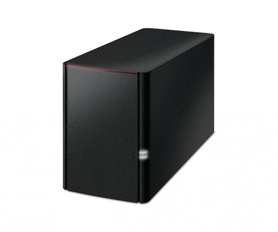 BUFFALO LinkStation 220 NAS 2TB NAS 2x 1TB HDD 1x Gigabit RAID 0/1