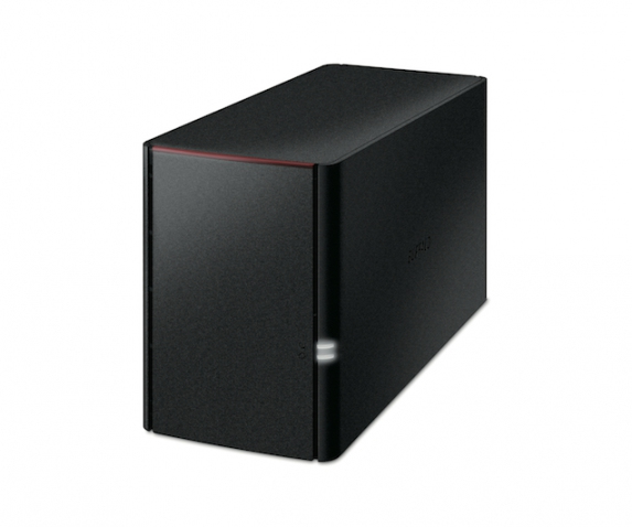 BUFFALO LinkStation 220 NAS 8TB NAS 2x 4TB HDD 1x Gigabit RAID 0/1