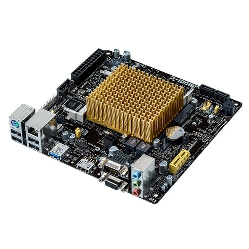 ASUS Mainboard J1800I-C Intel SoC Celeron J1800 2x DDR3 SO-DIMM max. 8GB D-Sub HDMI miniITX