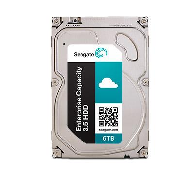 SEAGATE Enterprise Capacity 3.5 6TB HDD 7200rpm SAS 512E SED-FIPS 12Gb/s 128MB cache 8,9cm 3,5Zoll 24x7 BL