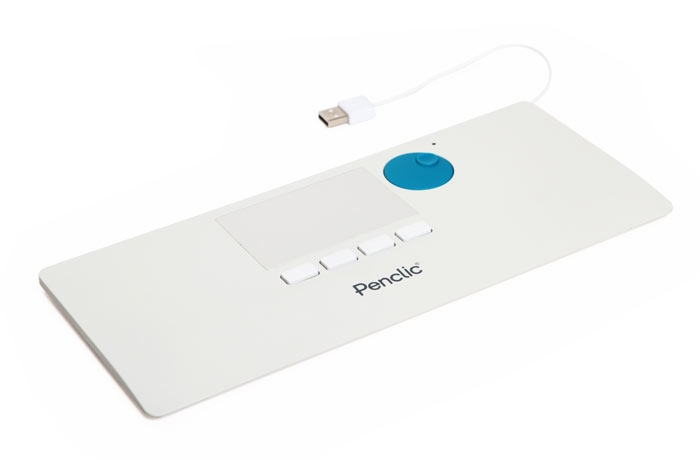 PENCLIC NiceTouch Touchpad T2 USB weiss schwedisches Design Ergonomie Form