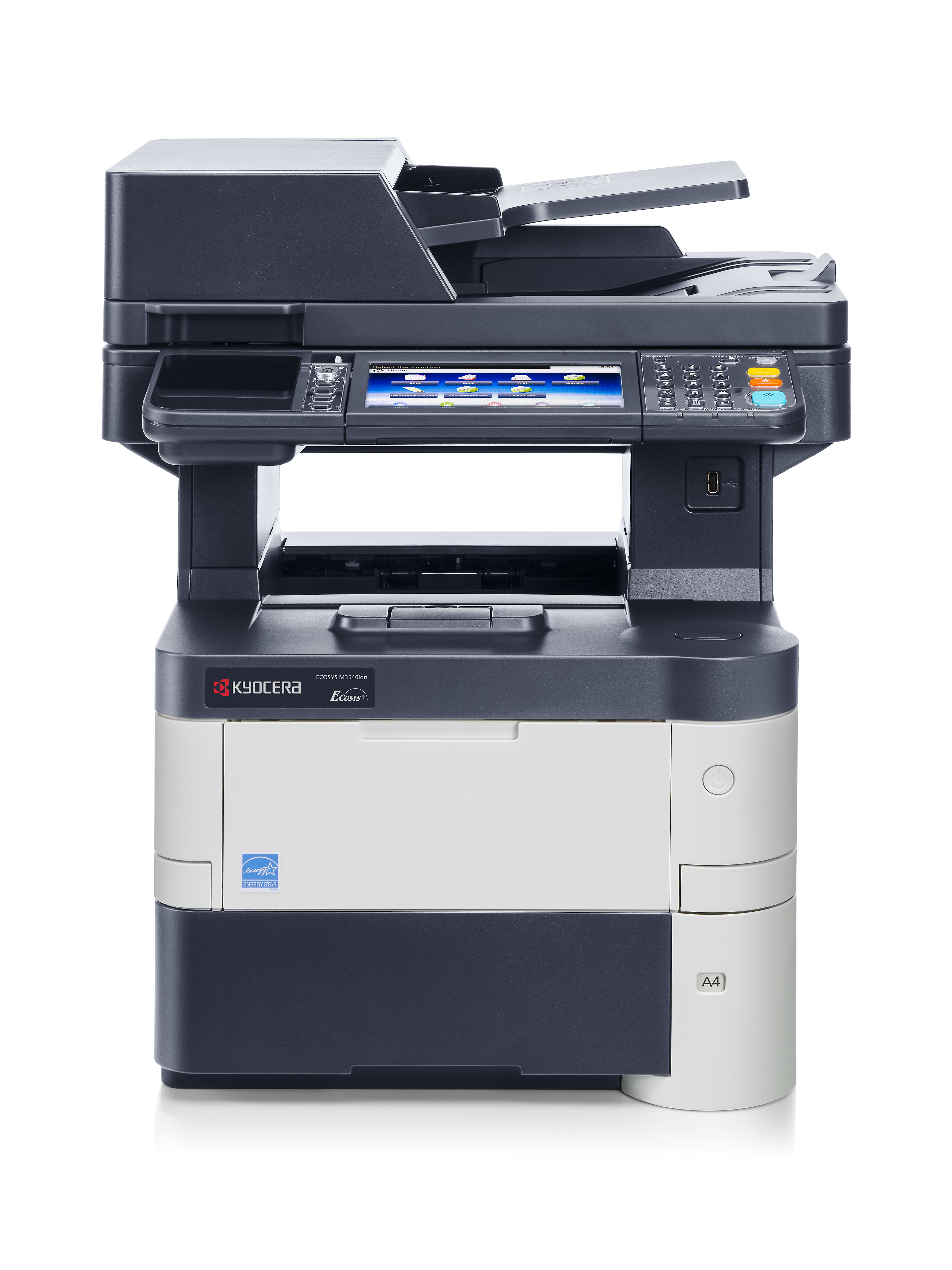 KYOCERA ECOSYS M3540idn/KL3 mono Laserdrucker 40ppm print scan copy fay +KYOLife 3Jahre