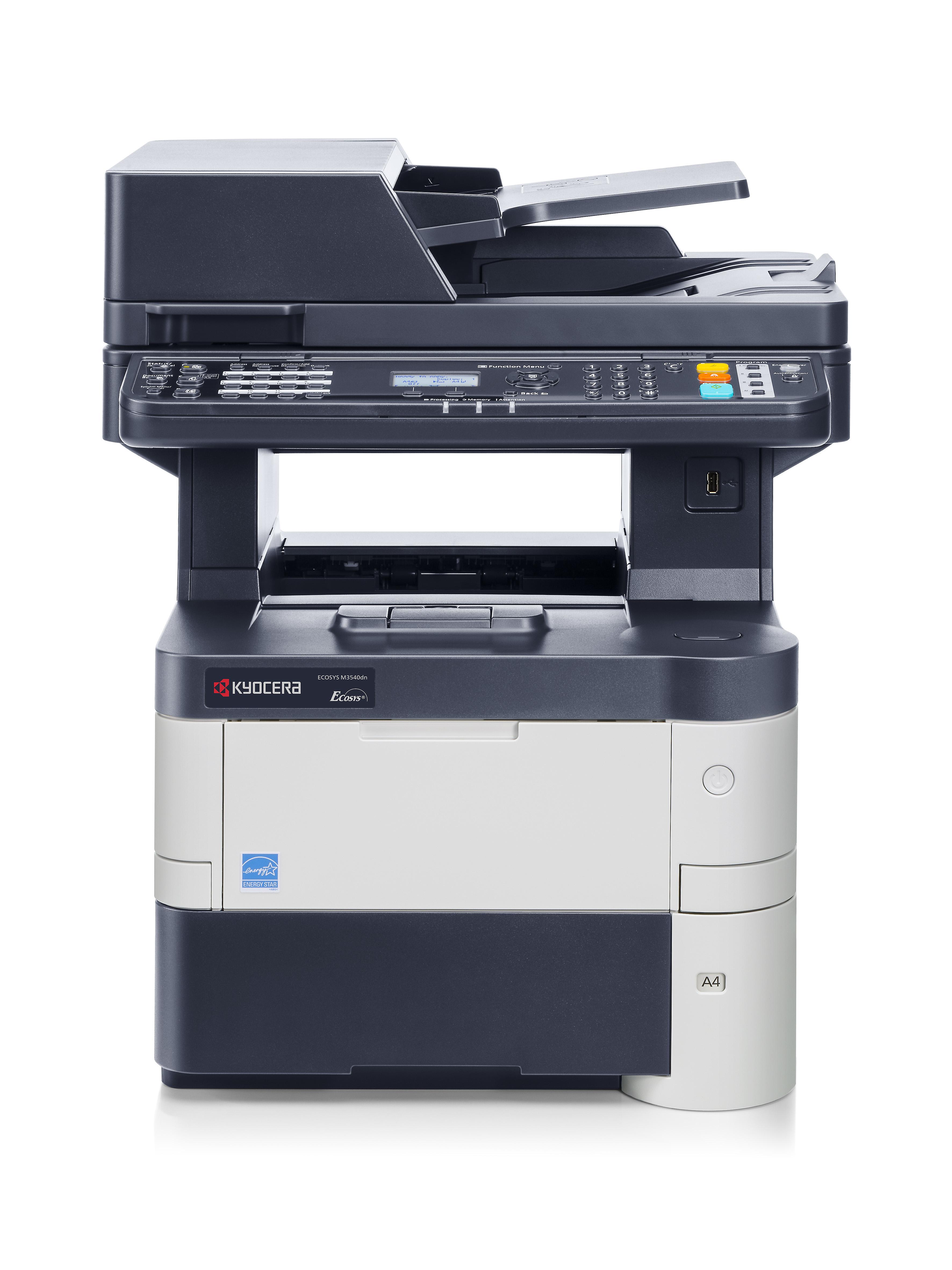KYOCERA ECOSYS M3540dn/KL3 mono Laserdrucker 40ppm print scan copy fay +KYOLife 3Jahre