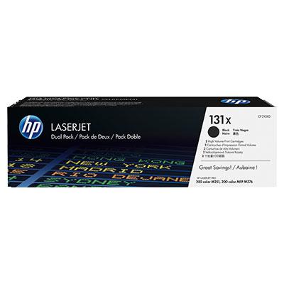 HP 131X Original Toner schwarz hohe Kapazit�t 2 x 2.400 Seiten 2er-Pack