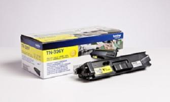BROTHER TN-326Y Toner gelb hohe Kapazität 3.500 Seiten 1er-Pack