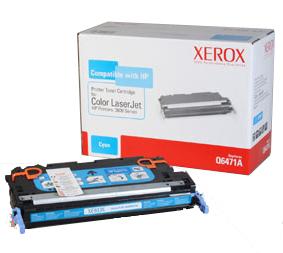 XEROX XRC Toner cyan für HP CLJ3600 alternativ zu Q6471A 4000Seiten