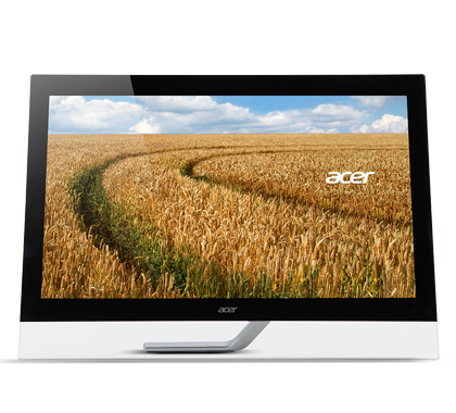 ACER T232HLAbmjjz 58,4cm 23Zoll TFT Touchscreen 16:9 1920x1080 300cd/m  100M:1 5ms VGA 2xHDMI mit MHL USB 3.0 Hub schwarz