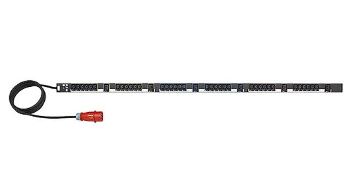 EATON Rack PDU  Basic 0U 16A 400V  (36)C13 & (6)C19 Cord Length (3 meter) IEC309