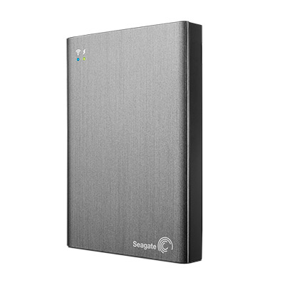SEAGATE Wireless Plus 2TB HDD mobile wireless storage device USB3.0 WiFi enabled devices with web browser 6,4cm 2,5Zoll extern RTL