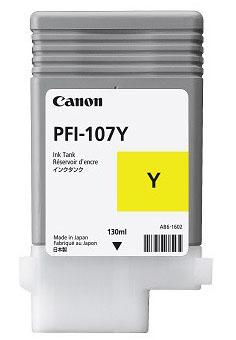 CANON PFI-107Y Tinte gelb Standardkapazität 130ml 1er-Pack
