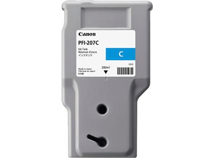 CANON PFI-207C Tinte cyan Standardkapazit�t 300ml 1er-Pack