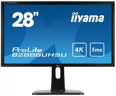 Scherm iiyama ProLite B2888UHSU-B1 LED display
