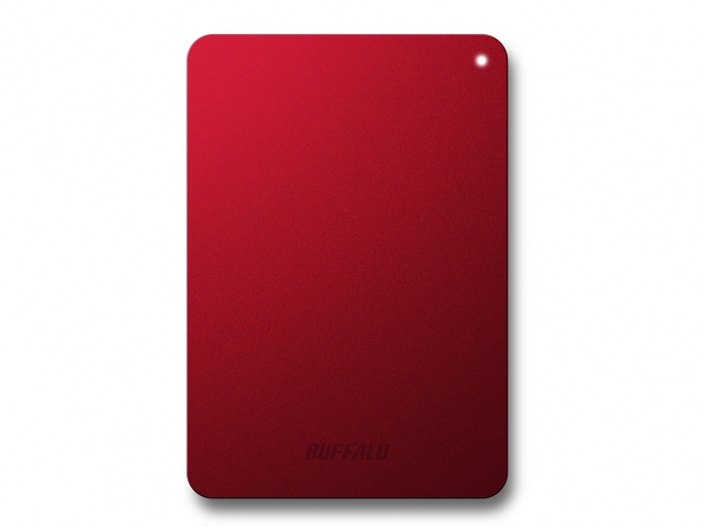 BUFFALO MiniStation Safe 1TB Portable HD 6,4cm 2,5Zoll flat protection rot