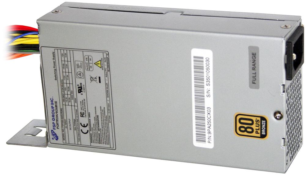 SHUTTLE PC45G Netzteil 250W 80+ silent 20 pin ATX + 4 pin ATX 12V 2X SATA nicht fuer K45
