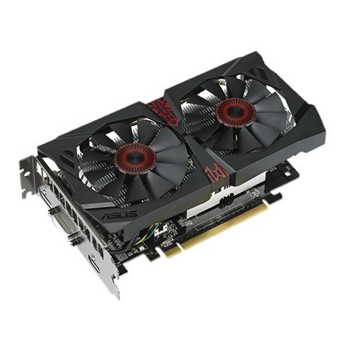ASUS GeForce GTX 750 TI STRIX OC 2048MB GDDR5 128bit PCI-E 3.0 Dual Link DVI-I HDMI DisplayPort aktiv