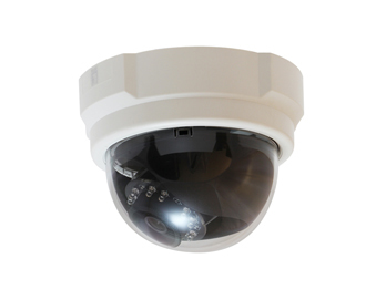 LEVELONE FCS-3063 Fixed Dome Network Camera 5-Megapixel PoE 802.3af Day & Night IR LEDs WDR