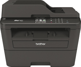BROTHER MFC-L2740DW MFP A4 mono laser 30ppm print scan copy fax 250Blatt Papierkassette Duplex-ADF und LAN/WLAN (AT)