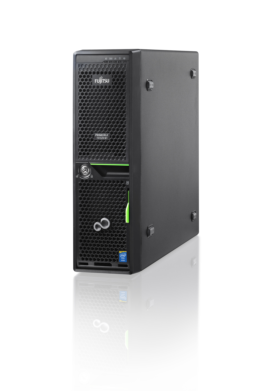 FUJITSU PRIMERGY TX1320 M1 Xeon E3-1240Lv3 4C 2,00GHz 1x 8GB DDR3-1600 w/o HDD SAS/SATA 6,4cm 2,5Zoll DVDRW Std SV 1J VOS