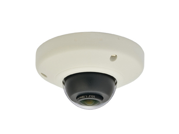 LEVELONE FCS-3093 Panoramic Dome Network Camera 5-Megapixel Outdoor PoE 802.3af WDR, Vandalproof, Vibrationproof
