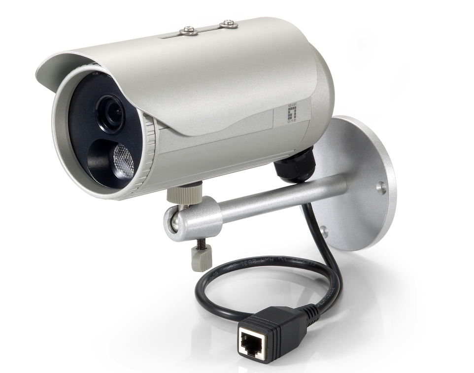 LEVELONE FCS-5053 Fixed Network Camera 3-Megapixel Outdoor PoE 802.3af Day & Night IR LEDs