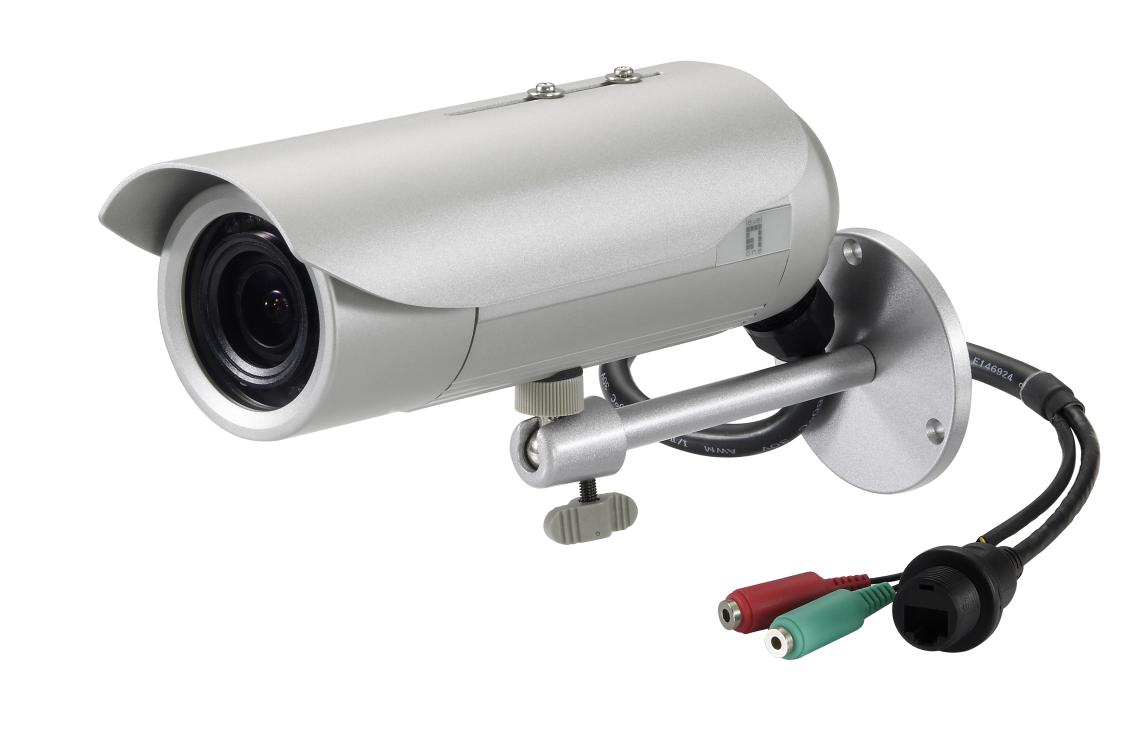 LEVELONE FCS-5064 Fixed Network Camera 5-Megapixel Outdoor PoE 802.3af Day & Night IR LEDs WDR