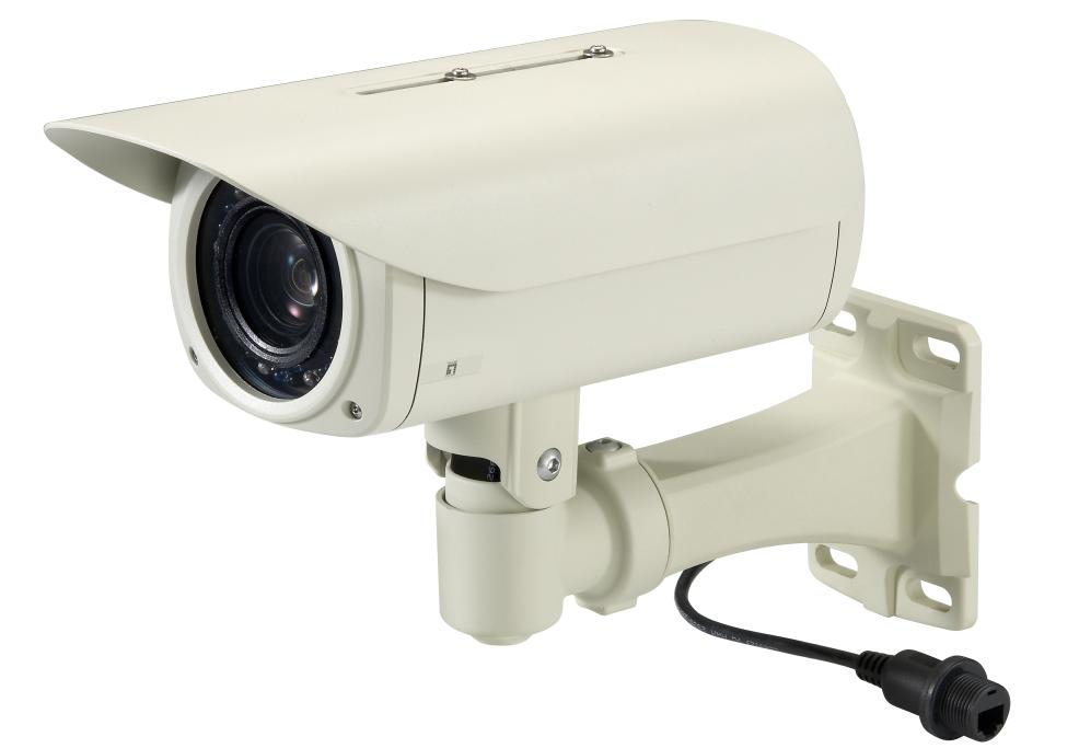 LEVELONE FCS-5065 Zoom Network Camera 5-Megapixel Outdoor PoE 802.3af Day & Night IR LEDs 12x WDR