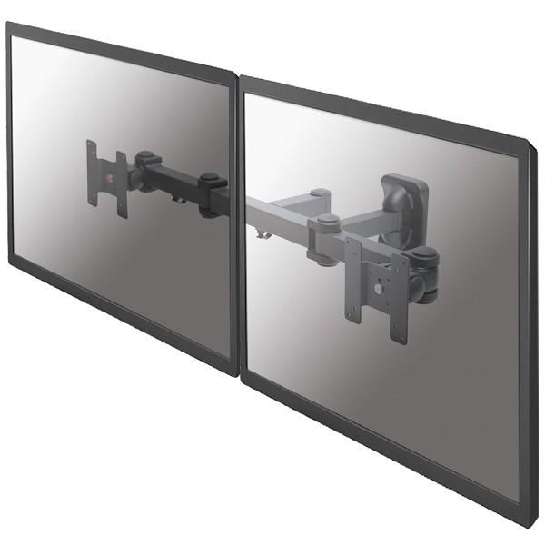 NEWSTAR FPMA-W960D Dual Wall Flachbildschirme 25,4-68,6cm 10-27Zoll 3 pivots tiltable schwarz