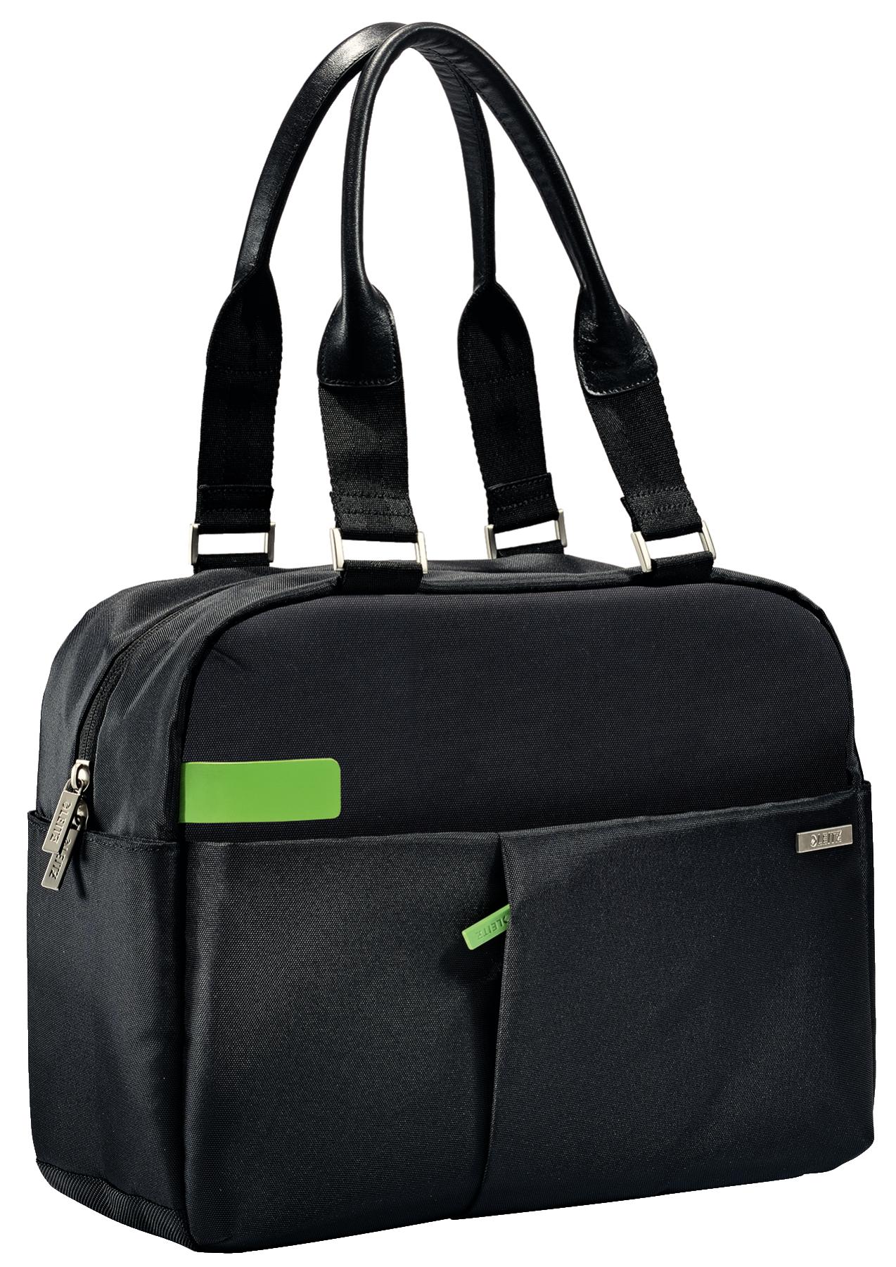 LEITZ Complete 33,78cm 13.3Zoll Shopper Smart Traveller. Schultertasche fuer all Ihre Mobilgeraete und A4 Dokumente. Mit eleganten