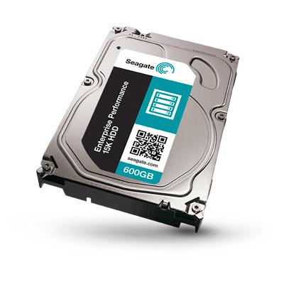 SEAGATE Enterprise Performance 15K 600GB HDD 512Native 15000rpm 12Gb/s SAS 128MB 6,4cm 2,5Zoll BLK