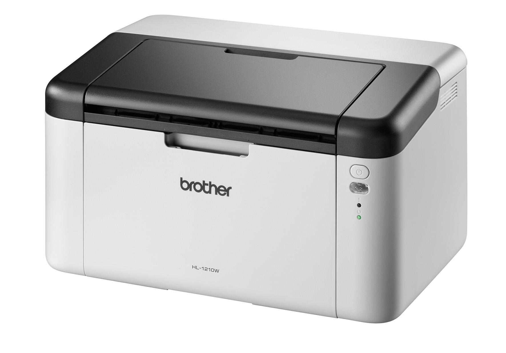 BROTHER HL-1210W A4 monochrom Laserdrucker 20ppm 2400x600pi 150 Blatt Papierzufuhr Wlan