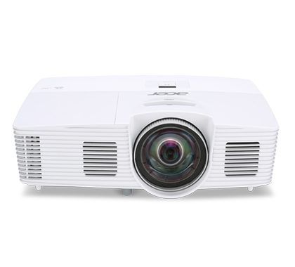 ACER S1283e DLP Kurzdistanz Projektor 3100 ANSI Lumen 3D ready XGA 1024x768 13.000:1 D-Sub Cinch-Video S-Video