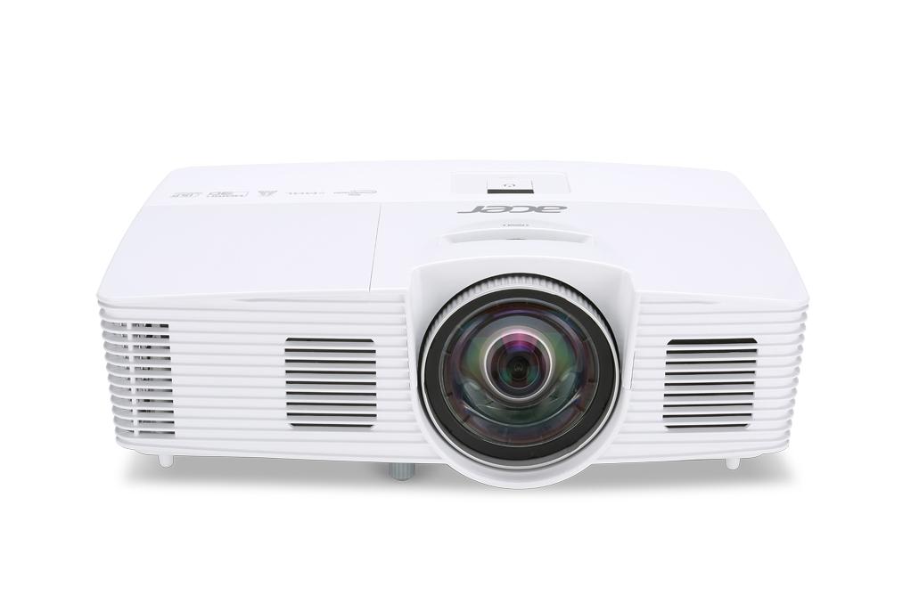 ACER S1283Hne DLP Kurzdistanz Projektor 3100 ANSI Lumen 3D ready XGA 1024x768 13.000:1 HDMI/MHL D-Sub Cinch-Video S-Video