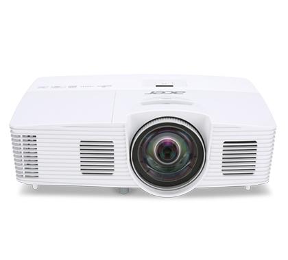 ACER S1383WHne DLP Kurzdistanz Projektor 3200 ANSI Lumen 3D ready WXGA 1280x800 13.000:1 HDMI/MHL D-Sub Cinch-Video S-Video