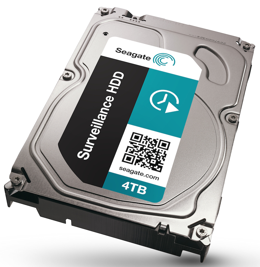 SEAGATE Surveillance 6TB HDD 7200rpm SATA serial ATA 6Gb/s CE 128MB cache 8,9cm 3,5Zoll 24x7 BLK