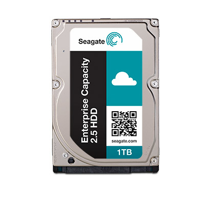 SEAGATE Enterprise Capacity 2.5 1TB HDD 4KNative 7200rpm 128MB chache 6,4cm 2,5Zoll SAS 12Gb/s 24x7 Dauerbetrieb BLK
